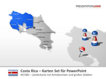 Costa Rica _https://www.presentationload.de/landkarte-costa-rica.html