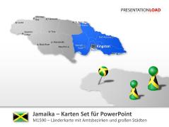 Jamaika _http://www.presentationload.de/landkarte-jamaika.html