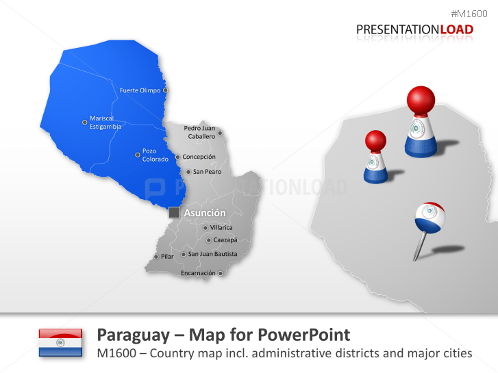 Paraguay _https://www.presentationload.com/map-paraguay.html