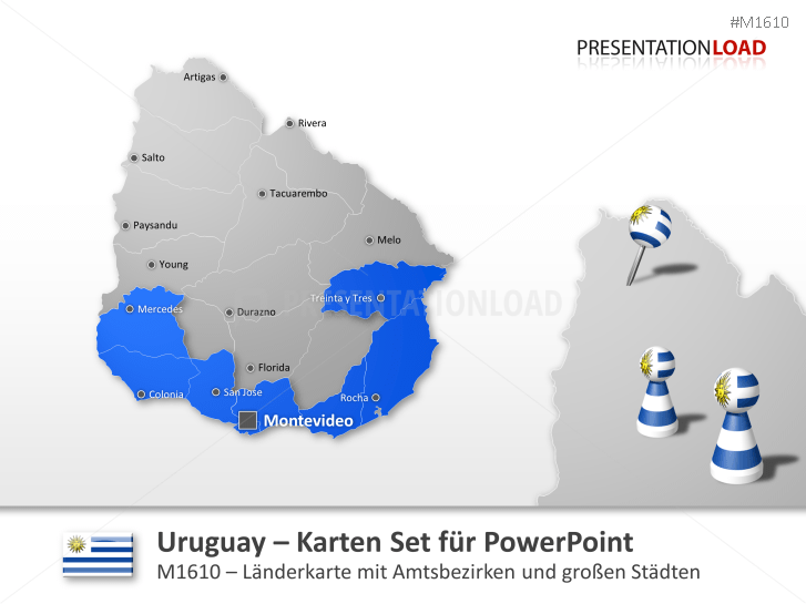 Uruguay _https://www.presentationload.de/landkarte-uruguay.html