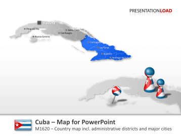 Cuba _https://www.presentationload.com/map-cuba.html