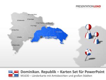 Dominikanische Republik _https://www.presentationload.de/landkarte-dominikanische-republik.html