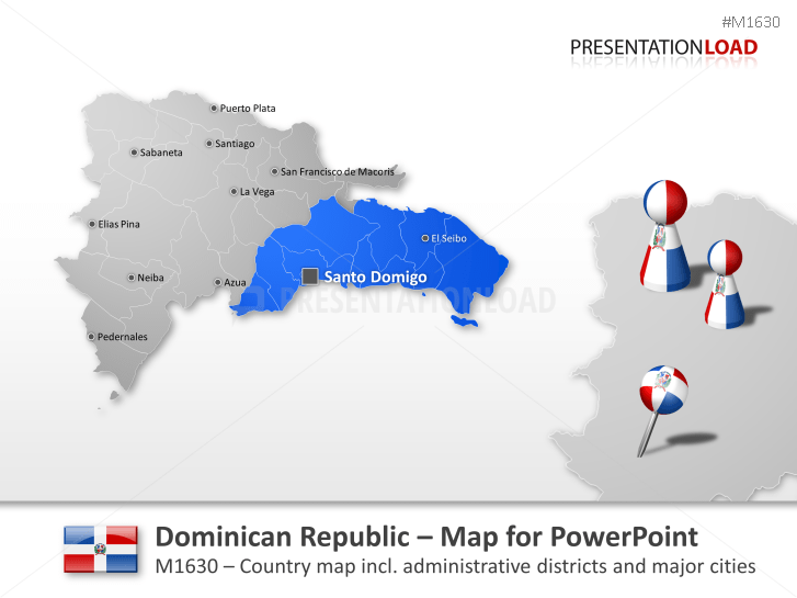 Dominican Republic _https://www.presentationload.com/map-donimican-republic.html