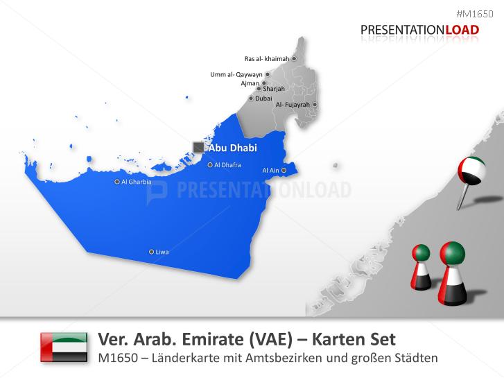 Vereinigte Arabische Emirate _https://www.presentationload.de/landkarte-vereinigte-arabische-emirate.html