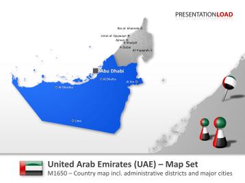 United Arab Emirates _https://www.presentationload.com/map-united-arab-emirates.html