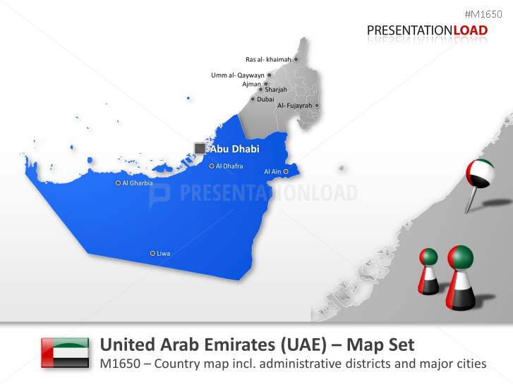 United Arab Emirates _https://www.presentationload.com/map-united-arab-emirates.html