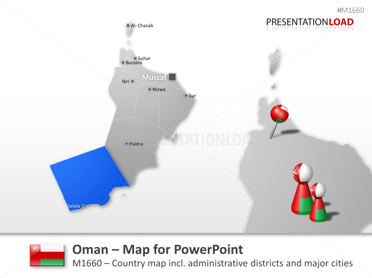 Oman _https://www.presentationload.com/map-oman.html