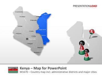 Kenya _https://www.presentationload.com/map-kenya.html