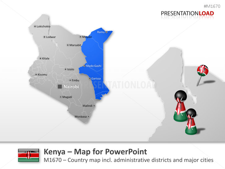 Kenya _https://www.presentationload.com/map-kenya.html