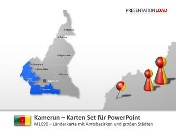 Kamerun _https://www.presentationload.de/landkarte-kamerun.html