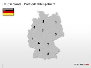 Deutschland - PLZ (2-stellig)