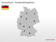 Deutschland - PLZ (2-stellig) _http://www.presentationload.de/deutschlandkarte-plz-2stellig.html