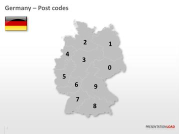 Carte Allemagne Code Postaux.Presentationload Serie De Cartes De L Allemagne