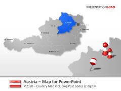 Austria Post Codes 2-digit _https://www.presentationload.com/map-austria-zip-2digit.html