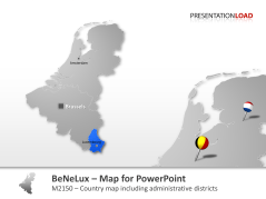 Benelux _https://www.presentationload.com/map-benelux.html