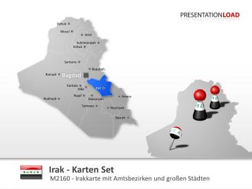 Irak _https://www.presentationload.de/landkarte-irak.html
