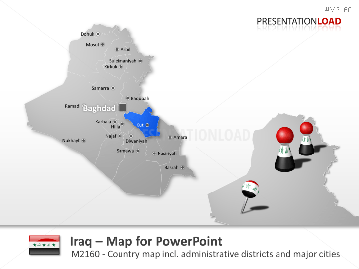 Iraq _https://www.presentationload.com/map-iraq.html