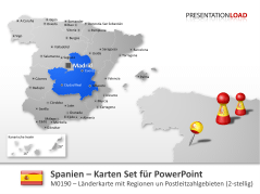 Spanien - PLZ (2-stellig) _https://www.presentationload.de/landkarte-spanien-plz.html