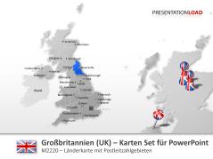 Großbritannien (UK) - PLZ _http://www.presentationload.de/landkarte-grossbritannien-uk-plz.html