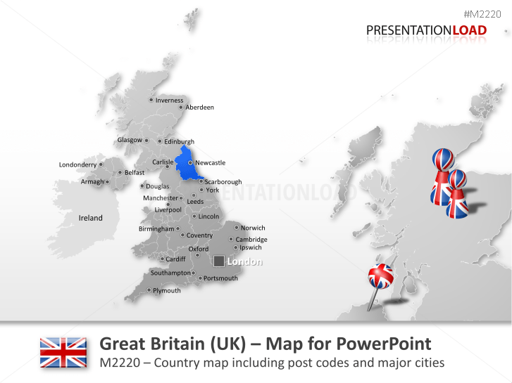 Great Britain (UK) - Post Code 2-digit _https://www.presentationload.com/map-great-britain-zip-2digit.html