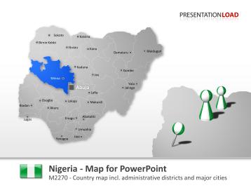 Nigeria _https://www.presentationload.com/map-nigeria.html