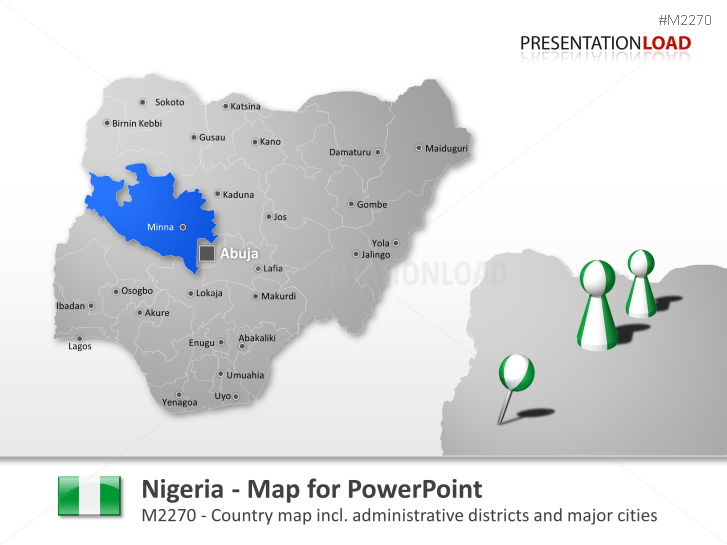 Nigeria _https://www.presentationload.com/map-nigeria.html