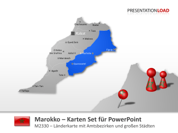 Marokko _https://www.presentationload.de/landkarte-marokko.html