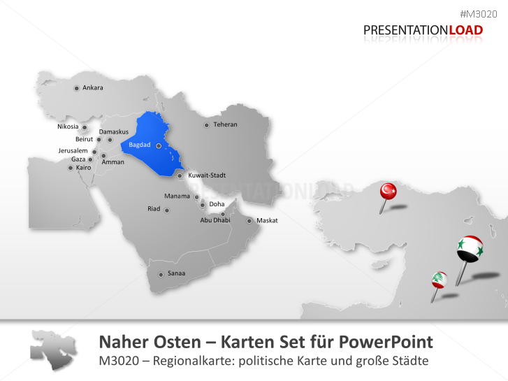Naher Osten _https://www.presentationload.de/landkarte-naher-osten.html