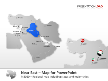 Middle East _https://www.presentationload.com/map-middle-east.html