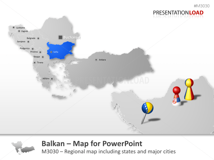 Balkans _https://www.presentationload.com/map-balkans.html
