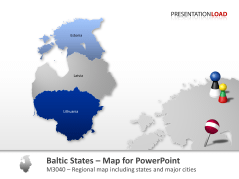 Baltic States _https://www.presentationload.com/map-baltic-states.html