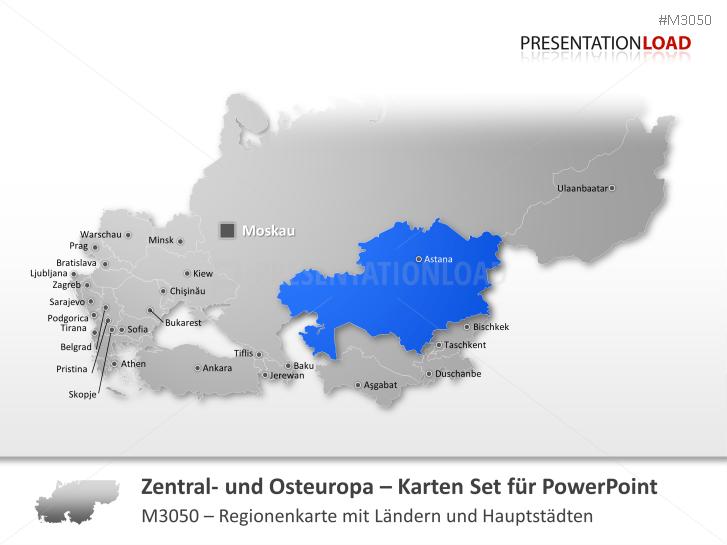 Zentral- und Osteuropa _https://www.presentationload.de/landkarte-zentral-osteuropa.html