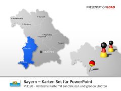 Bayern _http://www.presentationload.de/landkarte-bayern.html