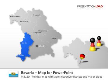 Bavaria _https://www.presentationload.com/en/powerpoint-maps/countries-europe/germany/Bavaria.html