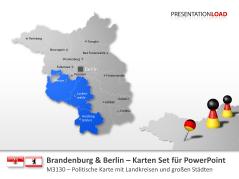 Brandenburg / Berlin _http://www.presentationload.de/landkarte-brandenburg-berlin.html
