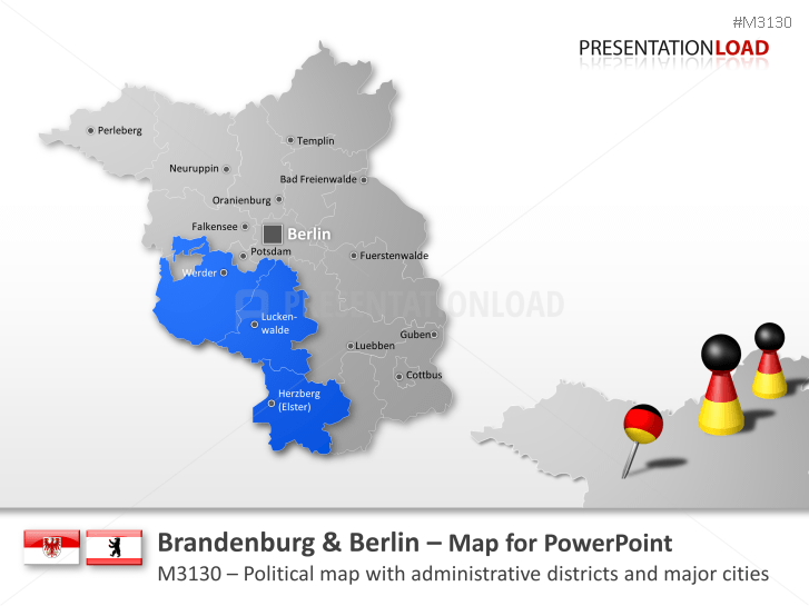 Brandenburg / Berlin _https://www.presentationload.com/map-brandenburg-berlin.html