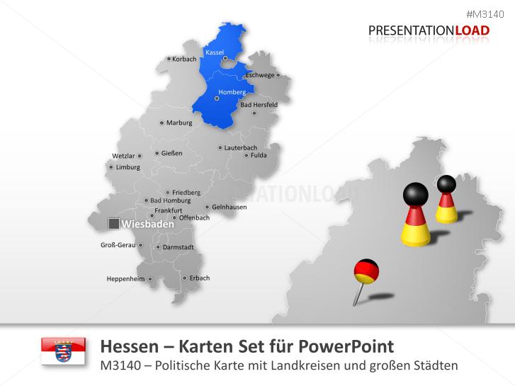 Hessen _https://www.presentationload.de/landkarte-hessen.html