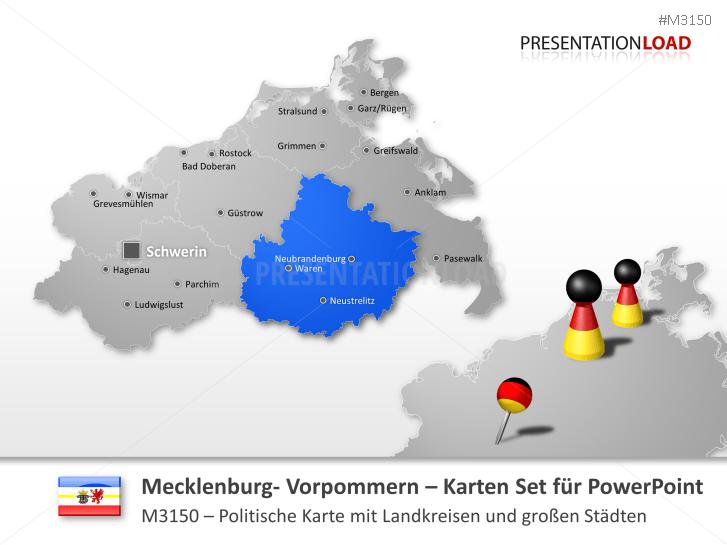 Mecklenburg-Vorpommern (inkl. neue Fassung) _https://www.presentationload.de/landkarte-mecklenburg-vorpommern.html