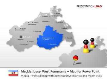 Mecklenburg-Vorpommern _https://www.presentationload.com/map-mecklenburg-vorpommern.html
