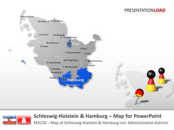Schleswig-Holstein / Hamburg _https://www.presentationload.com/map-schleswig-holstein-hamburg.html