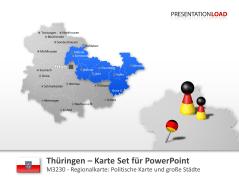 Thüringen _https://www.presentationload.de/landkarte-thueringen.html