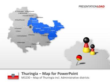 Thuringia _https://www.presentationload.com/map-thuringia.html