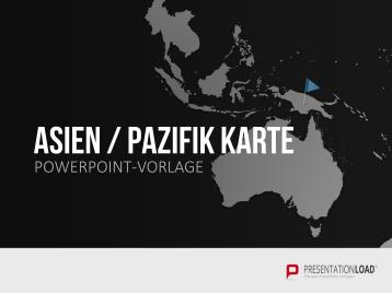 Asien - Pazifik _https://www.presentationload.de/landkarte-asien-pazifik.html