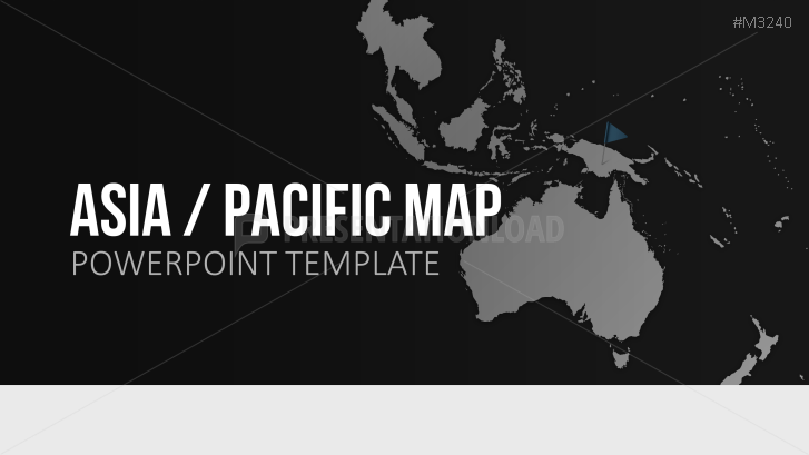 Powerpoint map asia pacific presentationload asia pacific toneelgroepblik Image collections