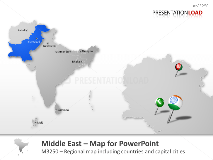 PowerPoint Maps of all Asia-Pacific Countries | PresentationLoad