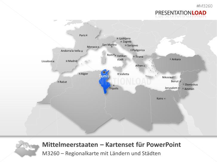 Mittelmeer- Staaten _https://www.presentationload.de/landkarte-mittelmeer-staaten.html