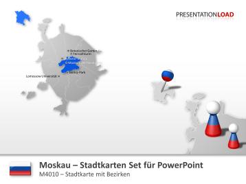 Moskau - Stadtkarte _https://www.presentationload.de/stadtkarte-moskau.html