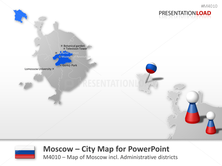 Moscow - City Map _https://www.presentationload.com/city-map-moscow-citymap.html