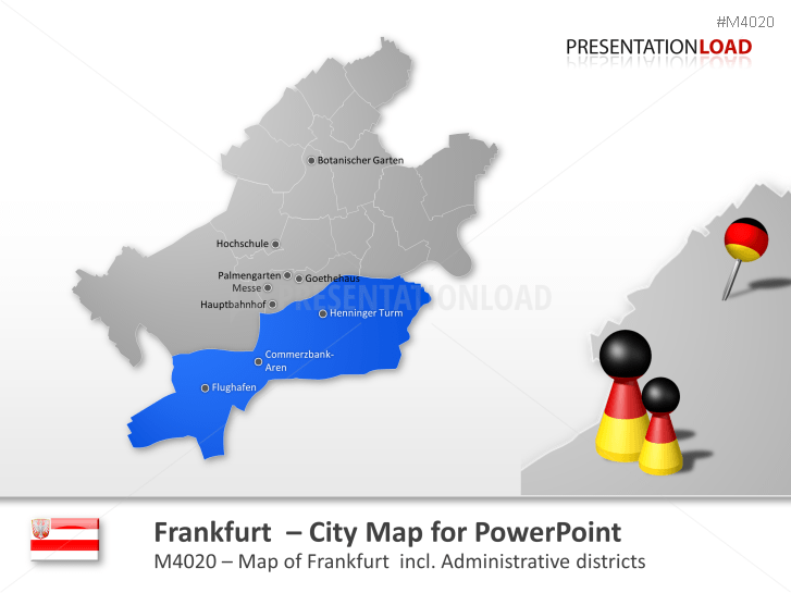 Frankfurt - City Map _https://www.presentationload.com/city-map-frankfurt.html