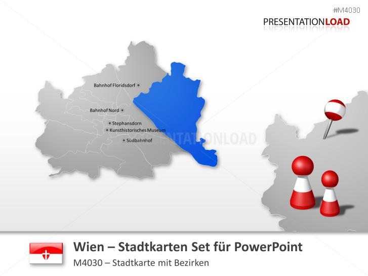 Wien - Stadtkarte _https://www.presentationload.de/stadtkarte-wien.html